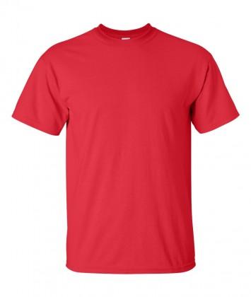 tricouri-simple-bumbac-gildan-rosu