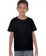 tricou-bumbac-copii-negru