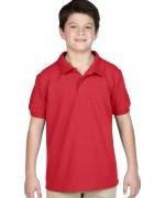 tricou-polo-copii-gildan-rosu