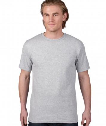 tricou-unisex-bumbac-Anvil-gri-sport