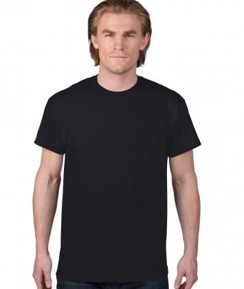 tricou-unisex-bumbac-Anvil-negru