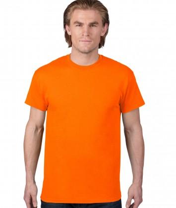 tricou-unisex-bumbac-Anvil-portocaliu