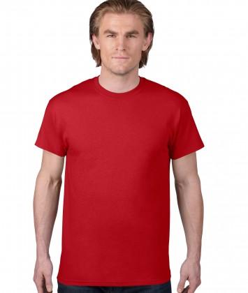 tricou-unisex-bumbac-Anvil-rosu