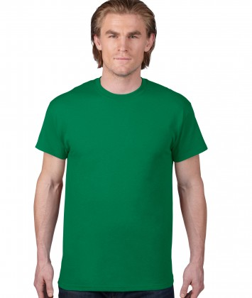 tricou-unisex-bumbac-Anvil-verde-kelly-green