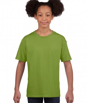 tricou bumbac copii Gildan kiwi