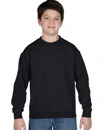 bluza-copii-groasa-gildan-negru