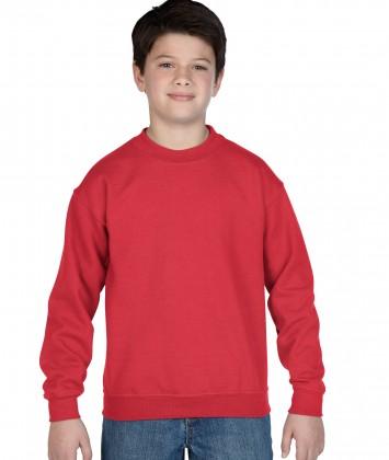 bluza-copii-groasa-gildan-rosu