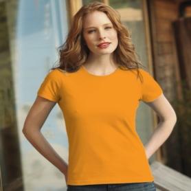 tricou-bumbac-dama-portocaliu-orange