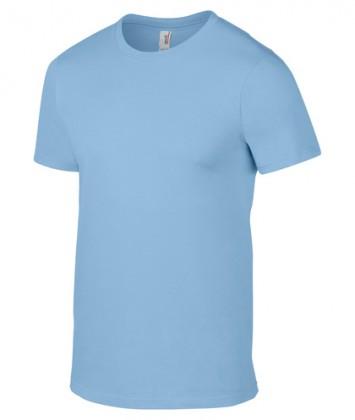 tricou-barbati-bumbac-Anvil-Light-Blue