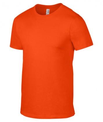 tricou-barbati-bumbac-Anvil-Orange
