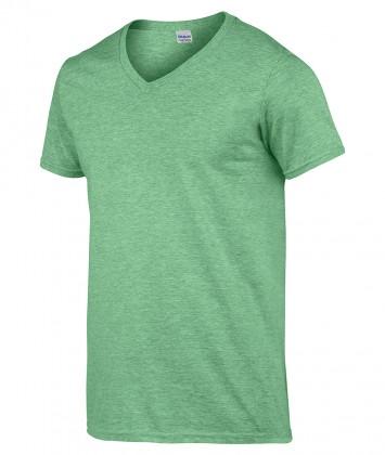 Tricouri-barbati-anchior-verde-heather