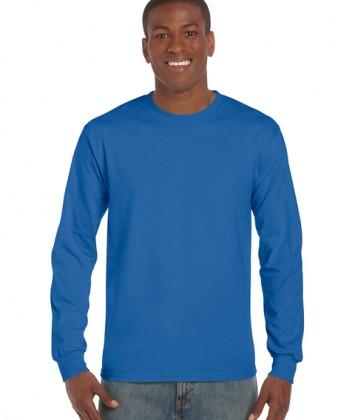 tricouri-barbati-cu-maneca-lunga-gildan-ultra-cotton-albastru-royal