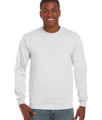 tricouri-barbati-cu-maneca-lunga-gildan-ultra-cotton-gri-ash