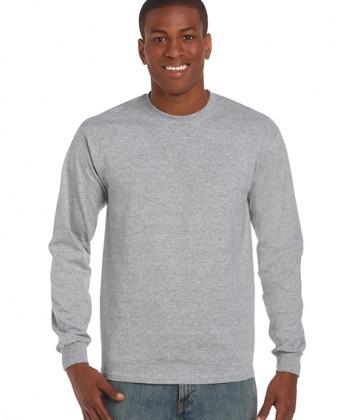 tricouri-barbati-cu-maneca-lunga-gildan-ultra-cotton-gri-sport