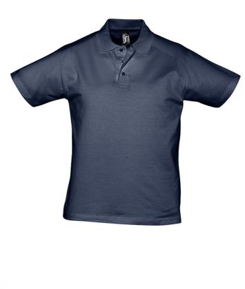 tricou-barbati-polo-bumbac-albastru-navy-prescott