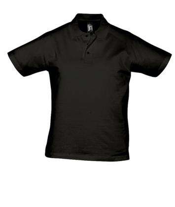 tricou-barbati-polo-bumbac-negru-prescott