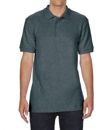 tricou-barbati-polo-gildan-premium-dark-heather