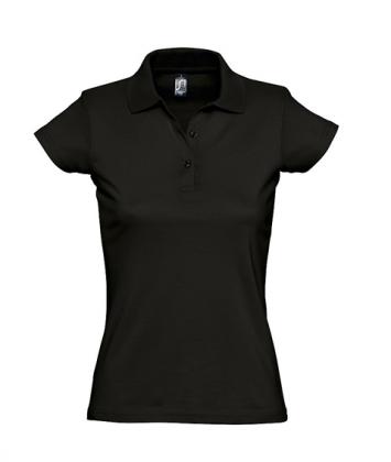 tricou-dama-polo-bumbac-negru-prescott