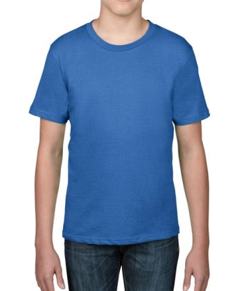 tricou-copii-anvil-basic-tee-albastru-royal