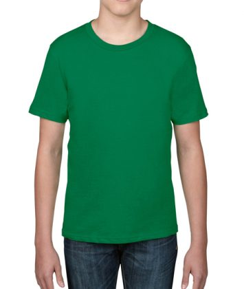tricou-copii-anvil-basic-tee-verde-kelly