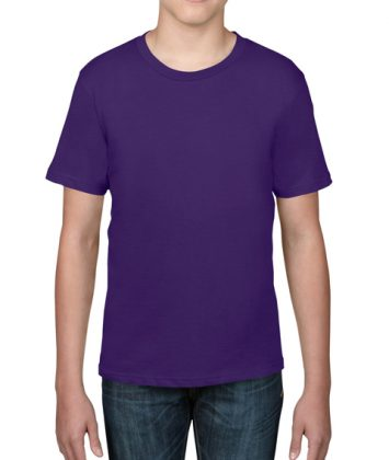 tricou-copii-anvil-basic-tee-violet