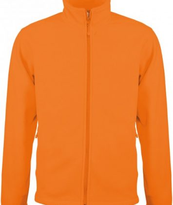 bluza-unisex-cu-fermoar-falco-kariban-portocaliu