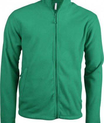 bluza-unisex-cu-fermoar-falco-kariban-verde-kelly