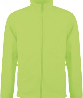bluza-unisex-cu-fermoar-falco-kariban-verde-lime